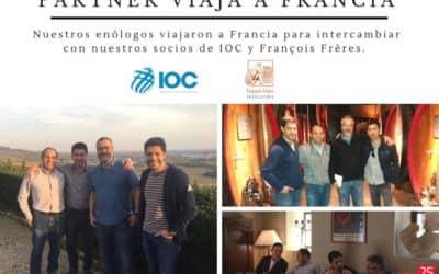 ¡Partner S.A viaja junto a la viñas chilenas a Francia!