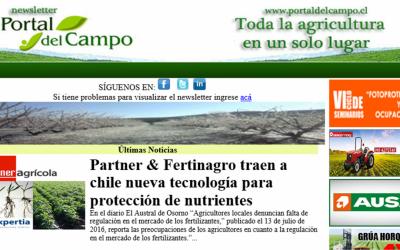 Agrícola : Nueva tecnología de Partner se alinea con regulaciones del SAG