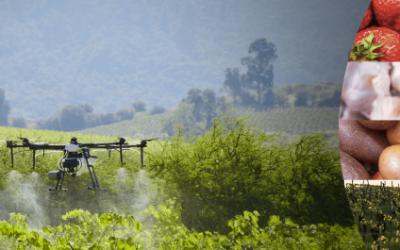 Drones agrícolas desde la aplicación foliar hasta la detección y el diagnóstico de los cultivos